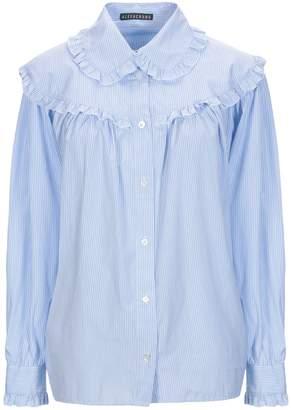 2b42d05ba95 ALEXACHUNG Blue Women s Tops - ShopStyle