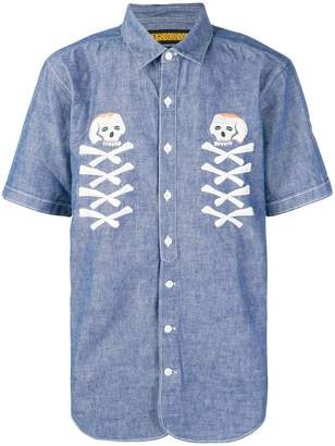 Neighborhood Skull shortsleeved shirt