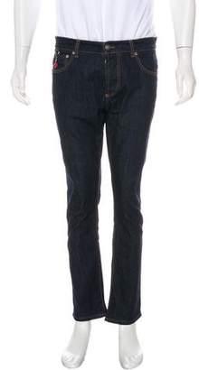 Isaia Five-Pocket Skinny Jeans