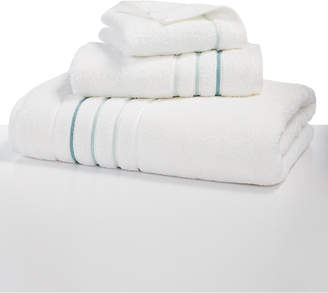 "Hotel Collection Ultimate Borderline 13"" Square Washcloth, Created for Macy's Bedding"