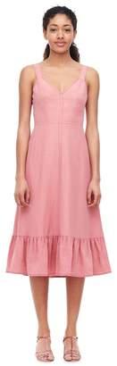 Rebecca Taylor Slub Linen Slip Dress