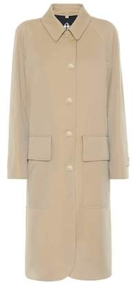 Burberry Wool-lined cotton coat
