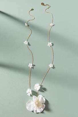 Anton Heunis Blooming Willow Pendant Necklace