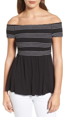 Women's Bailey 44 Metabolic Off The Shoulder Top $128 thestylecure.com