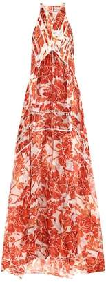 Altuzarra Bellini embellished silk maxi dress
