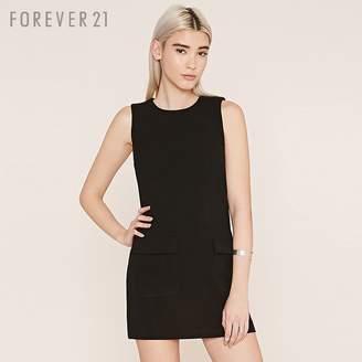 Forever 21 (フォーエバー 21) - Forever 21 2ポケットシフトワンピース