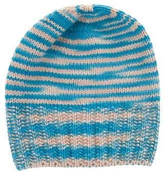 Missoni Cashmere Rib Knit Beanie