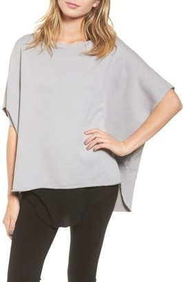 Women's Frank & Eileen Tee Lab Cotton Poncho $218 thestylecure.com