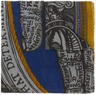 Faliero Sarti graphic scarf