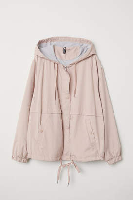 H&M H&M+ Hooded Jacket - Pink