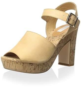 Nude Women's Ascot Block Heel Sandal