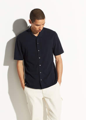 Cotton Short Sleeve Button Down