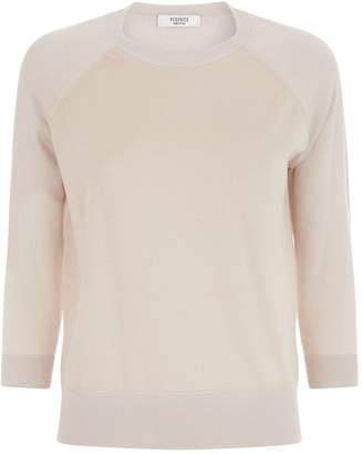 Peserico Knitted Round Neck Sweater