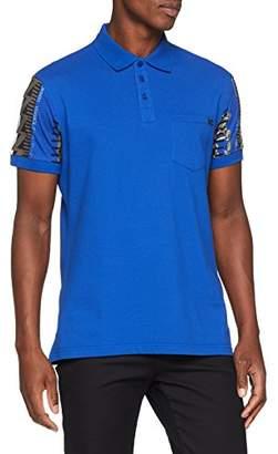 Versace Men's Man T-Shirt Kniited Tank Top, (Palace Blue E253), (Size: 52)
