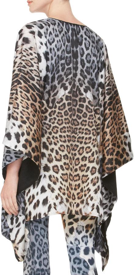 Just Cavalli Leopard-Print Caftan