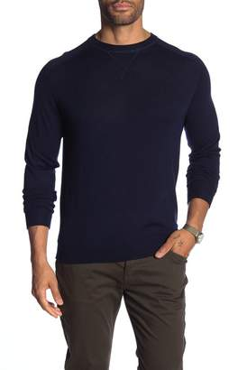 Good Man Brand Solid Extra Fine Merino Wool Crew Neck Sweater