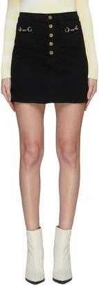 J Brand 'Sabine' high waist horsebit mini skirt