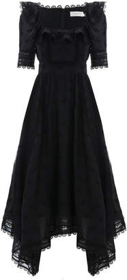Zimmermann Radiate Handkerchief Dress