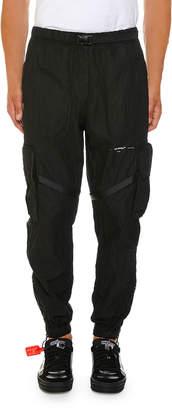 Off-White Off White Men's No Color Parachute Cargo Pants