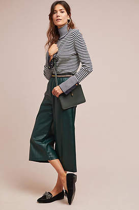 Suncoo Jody Cropped Wide-Leg Pants
