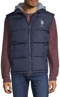 U.S. Polo Assn. USPA Hooded Puffer Vest