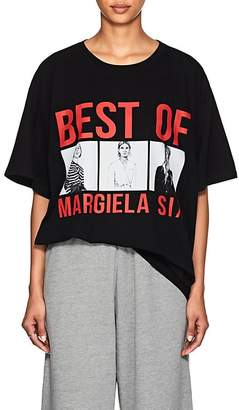 "MM6 MAISON MARGIELA Women's ""Best Of Margiela Six"" Cotton T-Shirt"