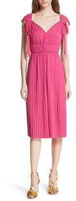 Tracy Reese Grecian Pleat Dress