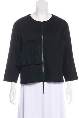 Marni Asymmetrical Knit Jacket