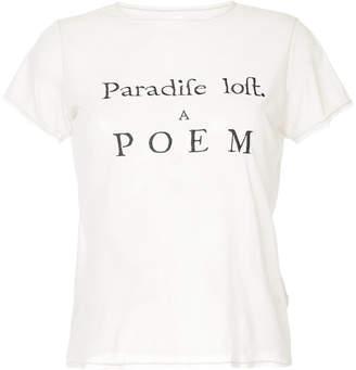 Tu Es Mon Trésor Paradise Lost mesh T-shirt