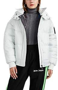 BIANNUAL Women's Faux-Fur-Trimmed Insulated Puffer Jacket - White