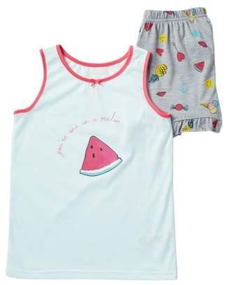 Jessica Simpson Tank & Short Pajama (Big Girls)