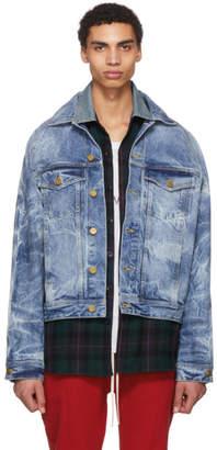 Fear Of God Indigo Selvedge Holy Water Denim Jacket