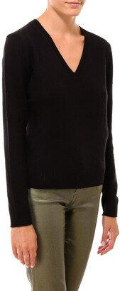Theory Cashmere Vneck Sweater