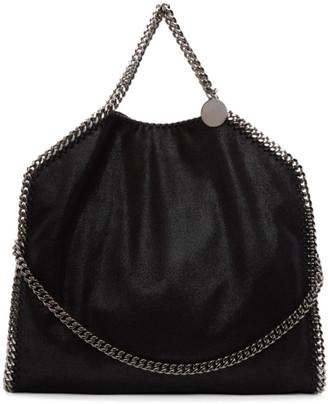 Stella McCartney Black Falabella Fold Over Tote $1,025 thestylecure.com