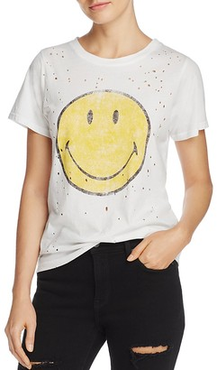 Daydreamer Smiley Face Vintage Tee $62 thestylecure.com