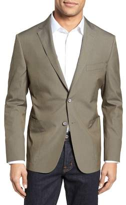 Hickey Freeman H BY Modern Fit Stretch Cotton Blend Blazer