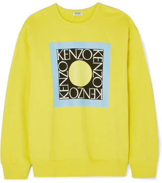 a23c65770e1a Kenzo Comfort Printed Cotton-jersey Sweater - Yellow