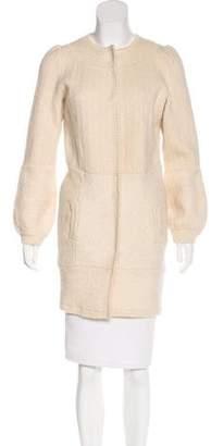 Proenza Schouler Long Knit Jacket
