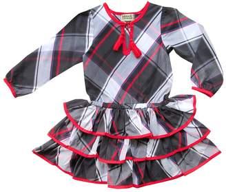 Sophie Catalou Bianca Plaid Ruffle Dress (Toddler, Little Girls, & Big Girls)