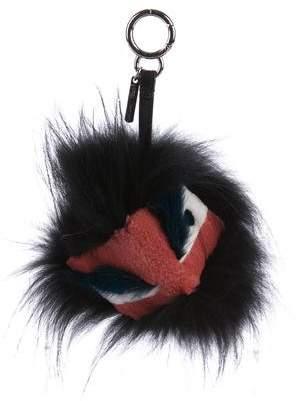 Fendi Fur Dragon Monster Bag Bug Charm