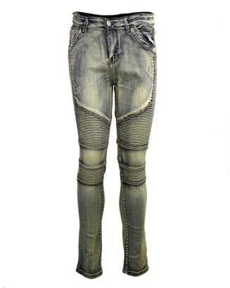 Walmart Sale Prices Comfortable Denim Trousers Elastic Pants Trendy Designed Straight Jeans Casual Slim Men Jeans Male Long Pants