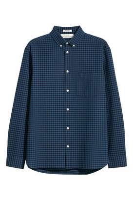 H&M Oxford Shirt Regular fit - Red - Men