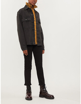 Zadig & Voltaire Ava raw-hem skinny high-rise jeans