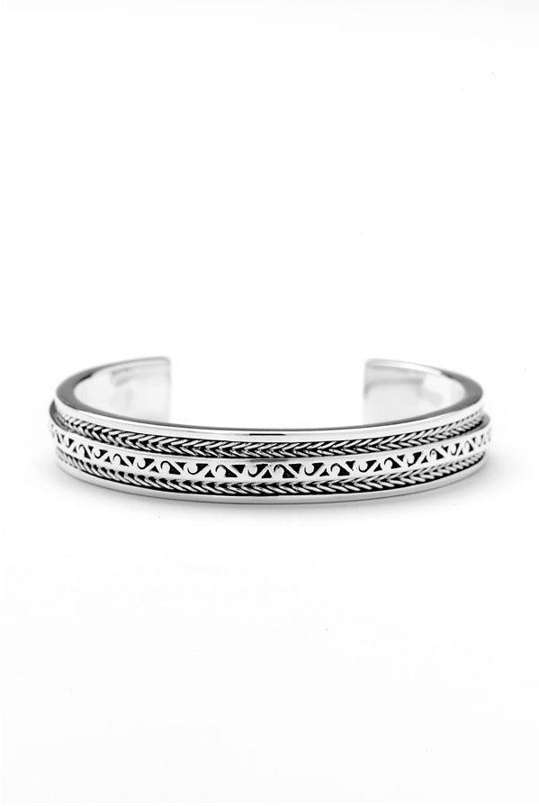 Lois Hill Twisted Cutout Medium Cuff Bracelet