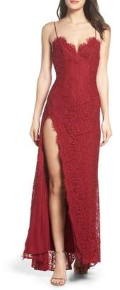 Fame & Partners Everett Lace Gown