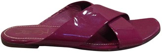 Saint Laurent Patent leather mules
