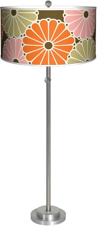 Thomaspaul - Parasol Orange Floor Lamp