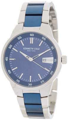 Kenneth Cole New York Men's Two-Tone Bracelet Watch