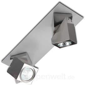 Praktyk - modischer LED-Deckenspot mit 2 Strahlern