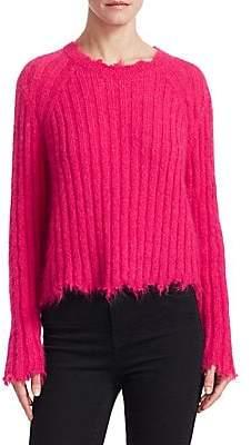 IRO Women's Cropped Crewneck Sweater